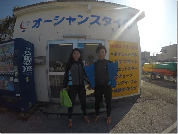冬の沖縄(^^♪